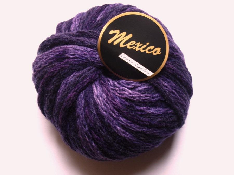 ea95a2145f97 100 gr Mexico violet 609 Lammy yarns Lammy yarns   Toutes en Laine ...