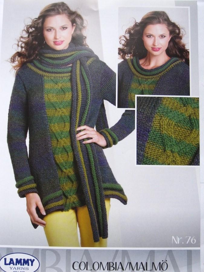 fiche tricot pull + écharpe Lammy yarns   Toutes en Laine-Vente de ... 9f384fe0869