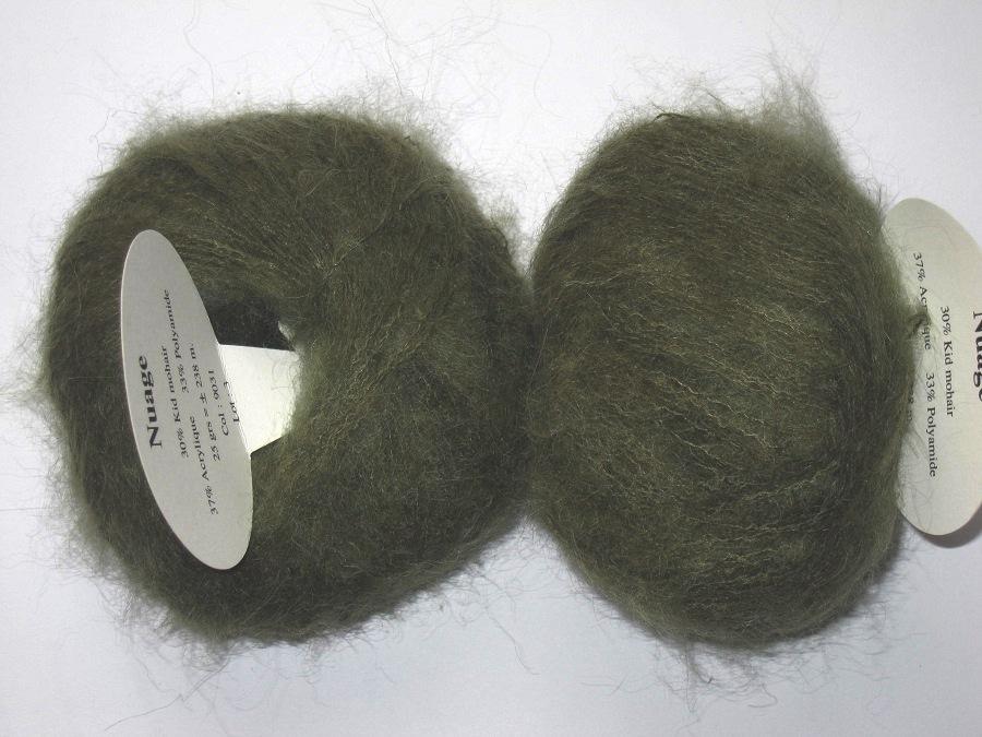 1 pelote kid mohair nuage kaki 9031 textiles de la marque toutes en laine vente de laine. Black Bedroom Furniture Sets. Home Design Ideas