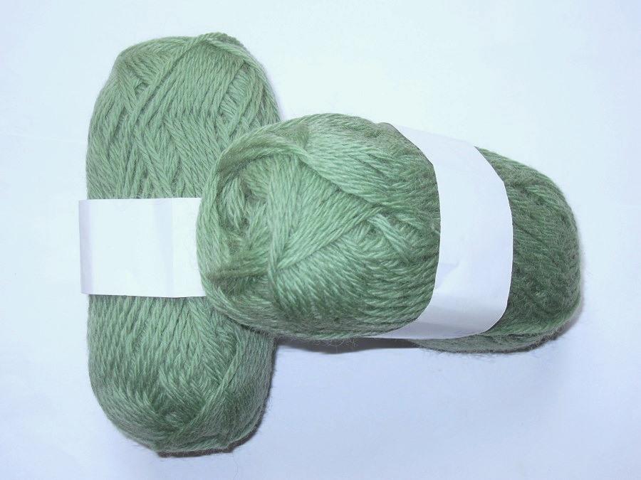 2ba42ebc41e9 1 lot 480 gr pure laine vert amande Divers   Toutes en Laine-Vente ...