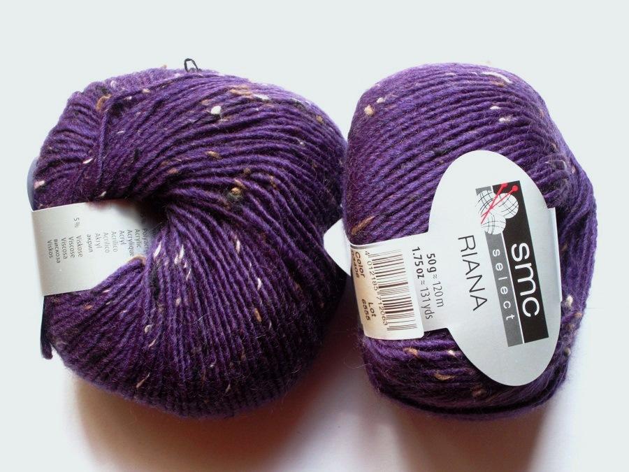 b2fb5c4d3162 10 pelotes laine Riana violet 03406 SMC Select SMC Select   Toutes ...